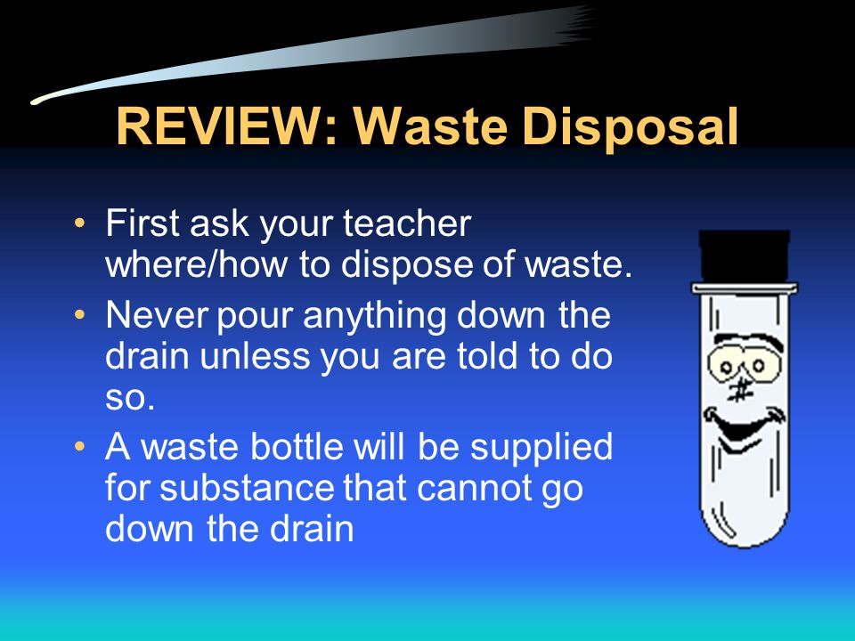 REVIEW: Waste Disposal