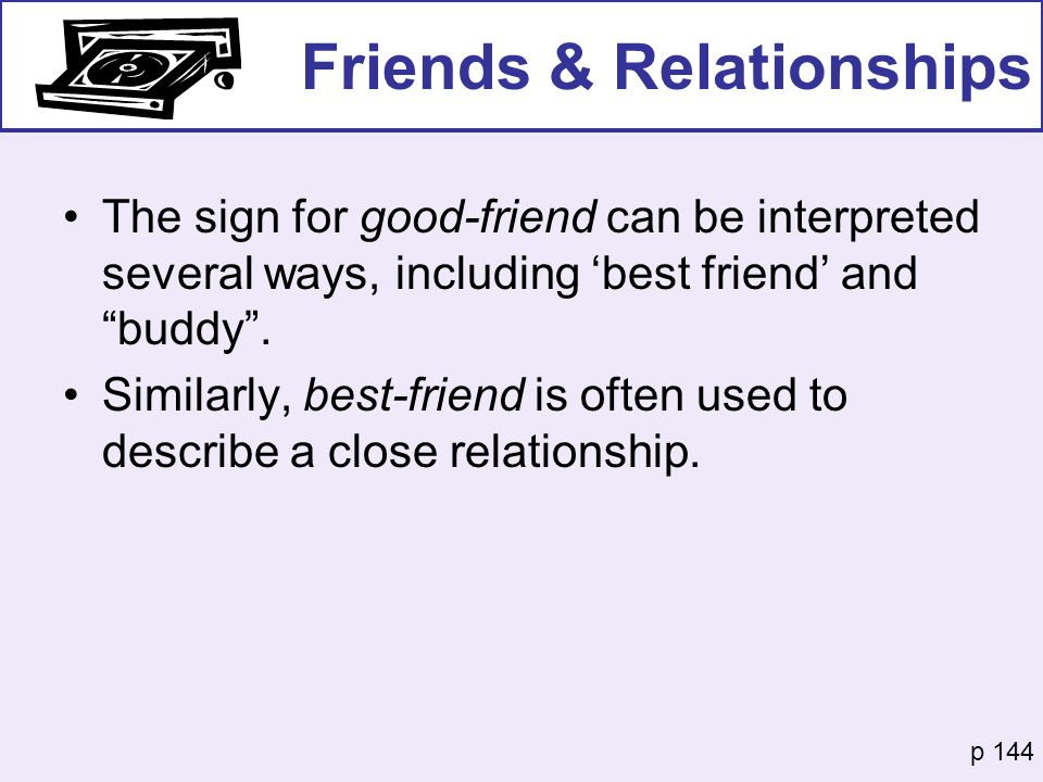 Friends & Relationships