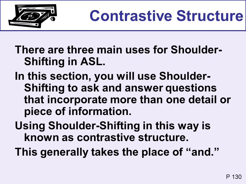 Contrastive Structure