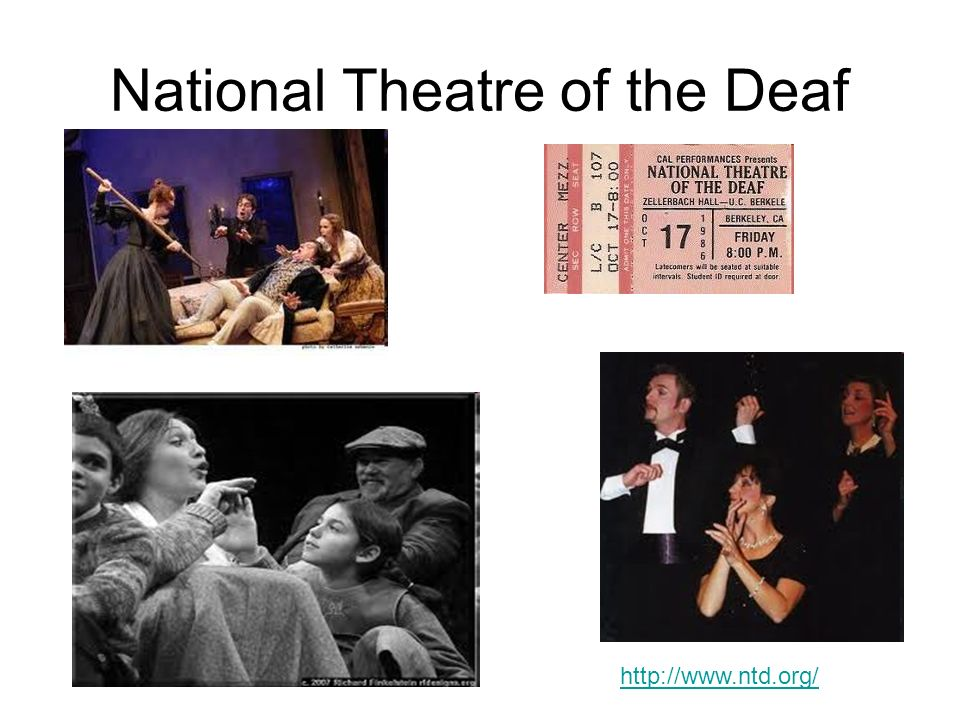 National Theatre of the Deaf