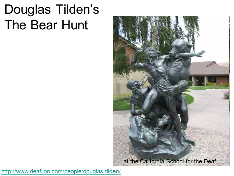 Douglas Tilden's The Bear Hunt
