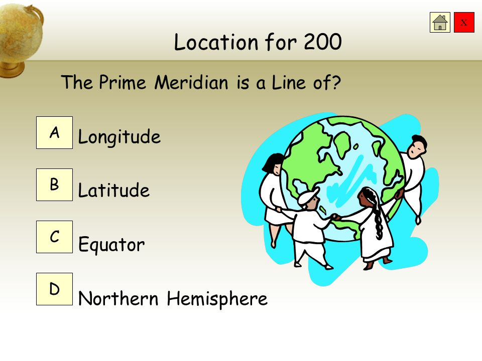 Location for 200 The Prime Meridian is a Line of Longitude Latitude