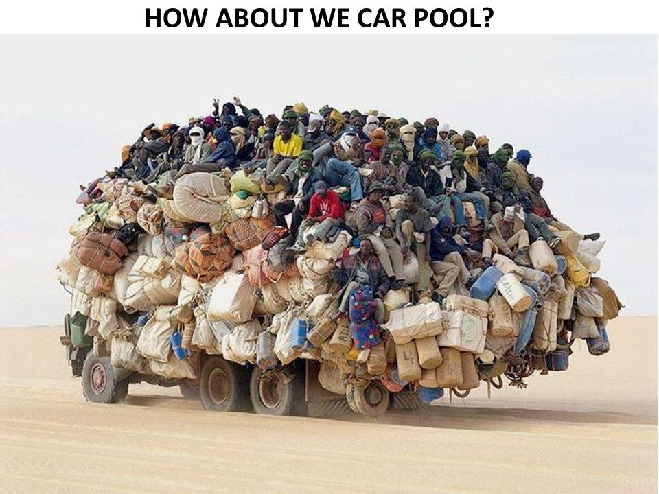HOW ABOUT WE CAR POOL