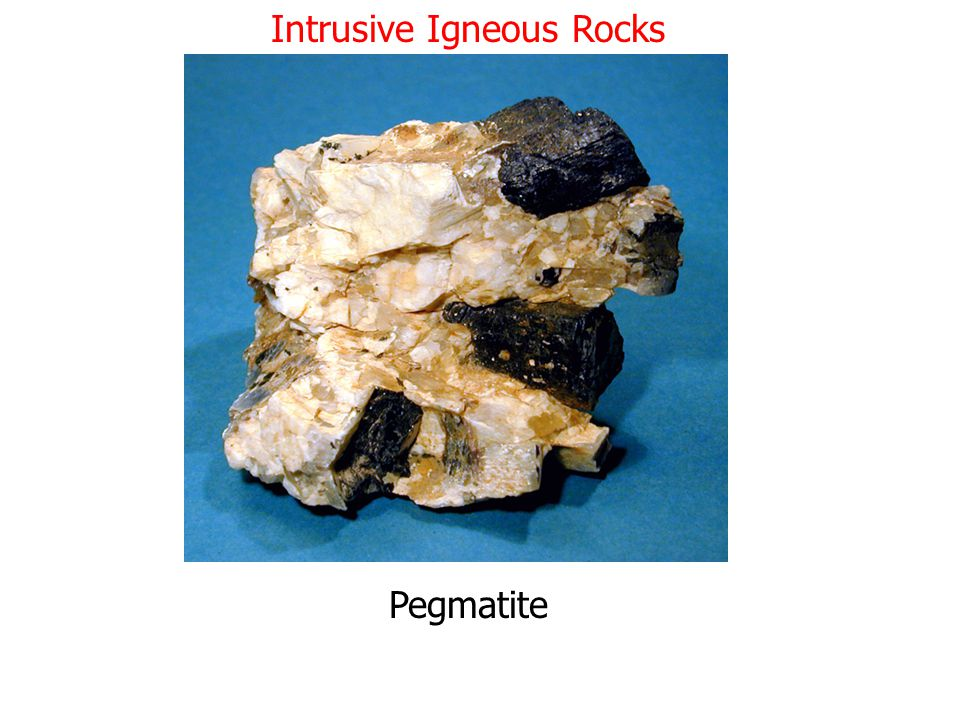 Intrusive Igneous Rocks