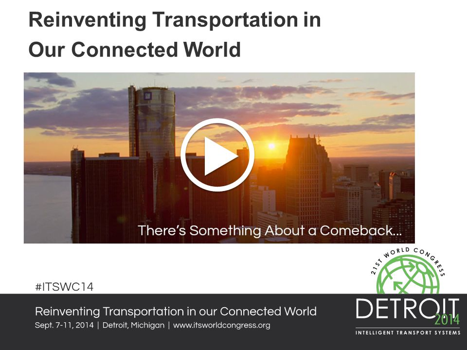 Reinventing Transportation in Our Connected World