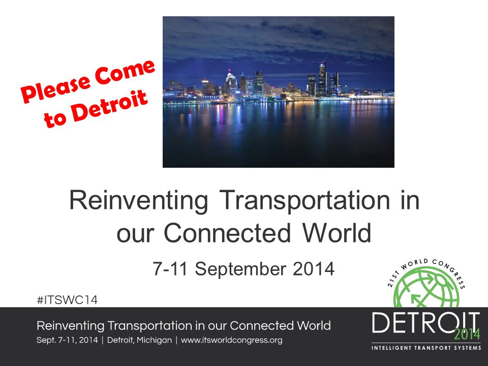 Reinventing Transportation in