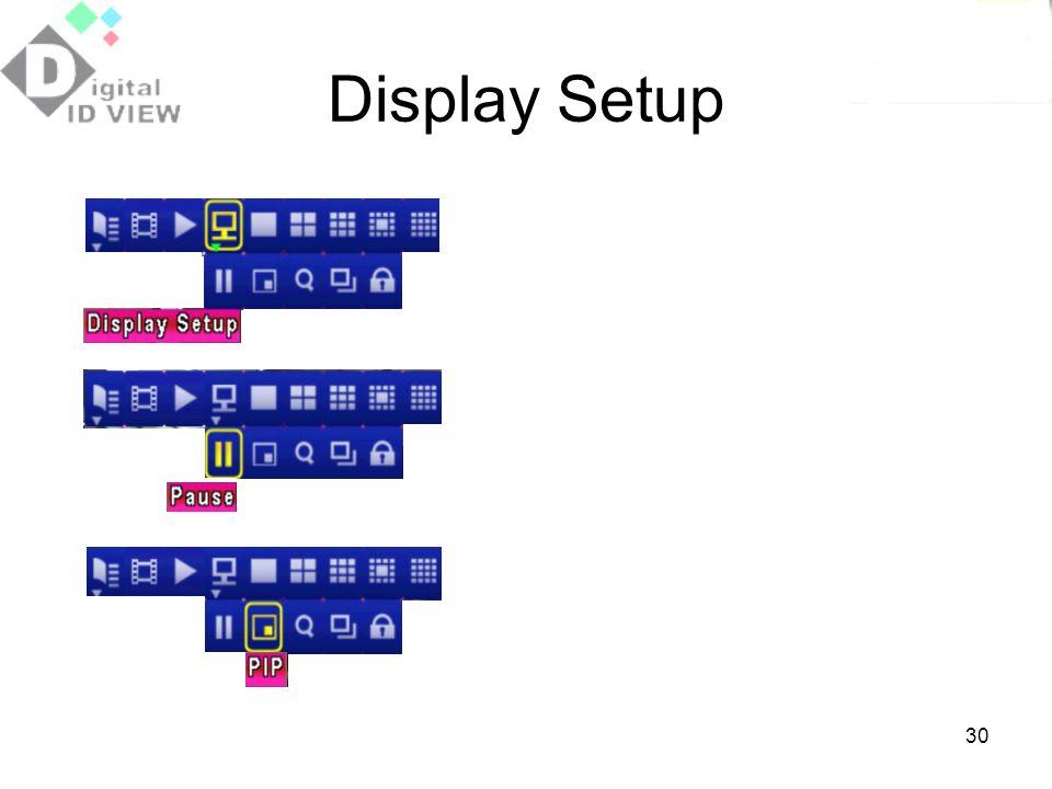 Display Setup