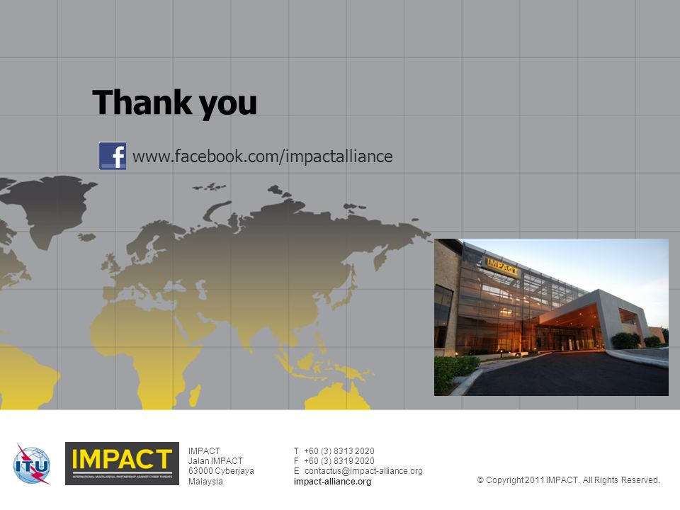 Thank you www.facebook.com/impactalliance