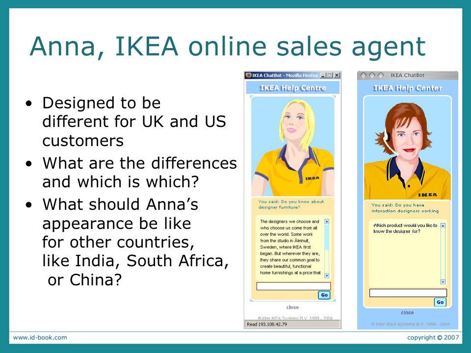 Anna, IKEA online sales agent