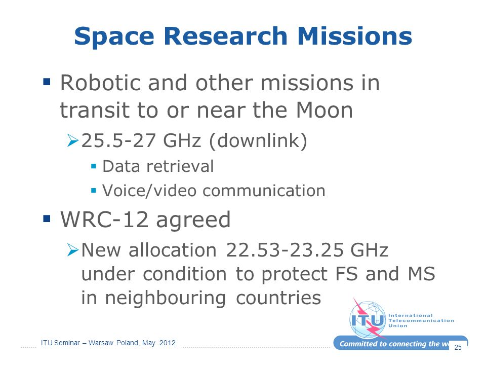 Space Research Missions