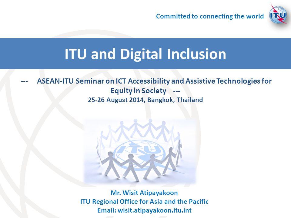 ITU and Digital Inclusion