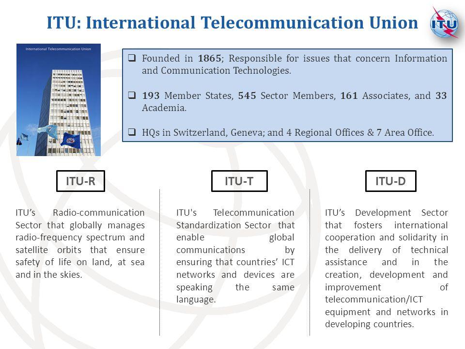 ITU: International Telecommunication Union