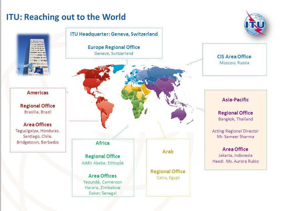 ITU Headquarter: Geneva, Switzerland Europe Regional Office