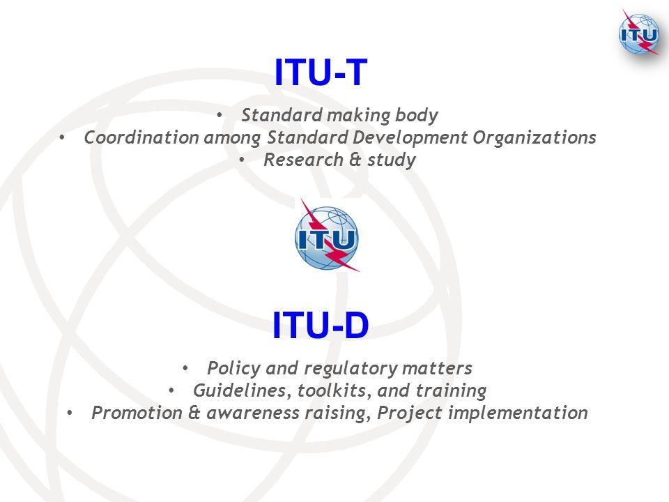 ITU-T ITU-D Standard making body