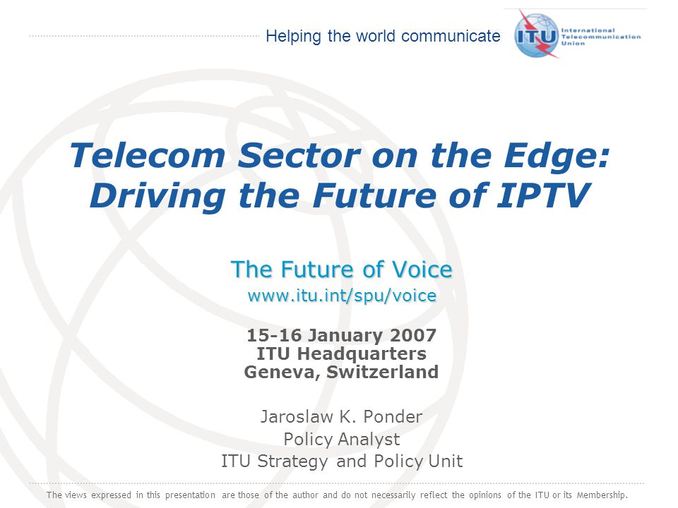 Telecom Sector on the Edge: Driving the Future of IPTV