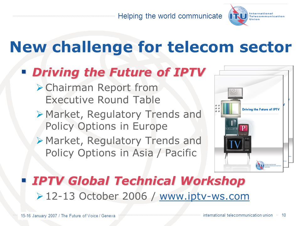 New challenge for telecom sector