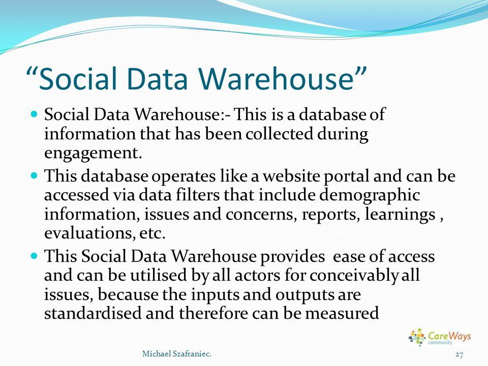 Social Data Warehouse