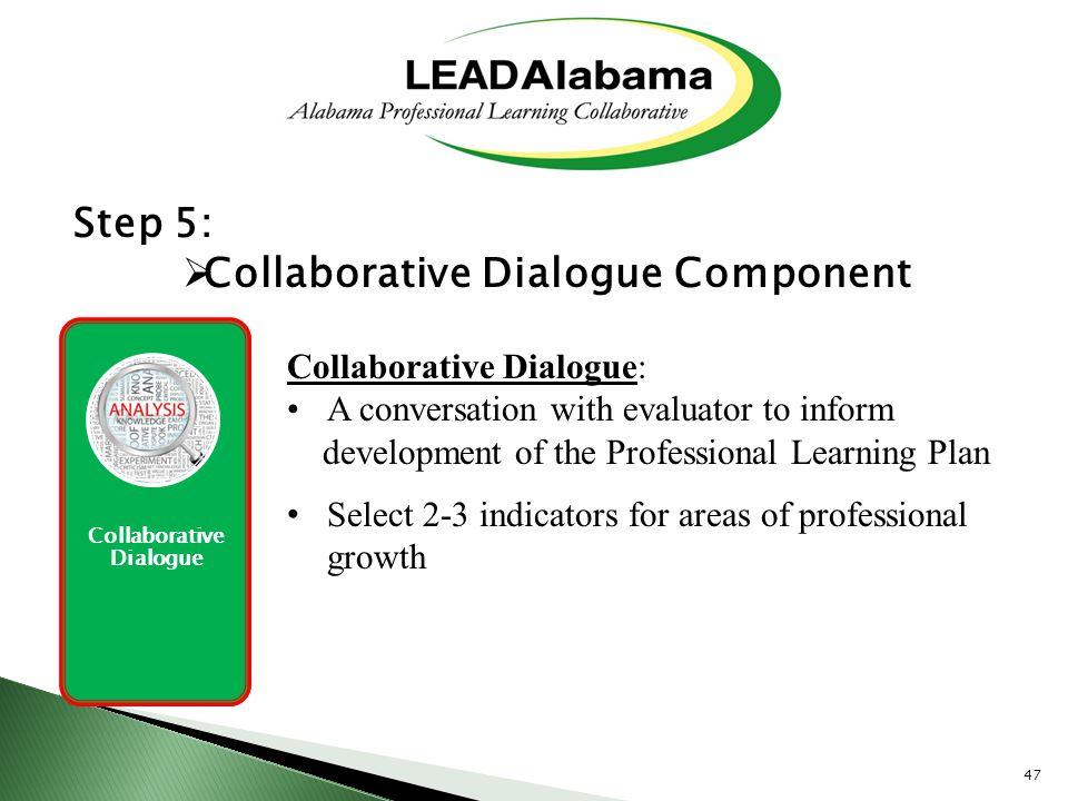 Collaborative Dialogue Component