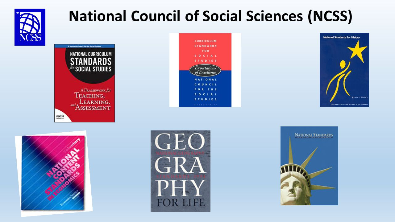 National Council of Social Sciences (NCSS) These Documents Include: