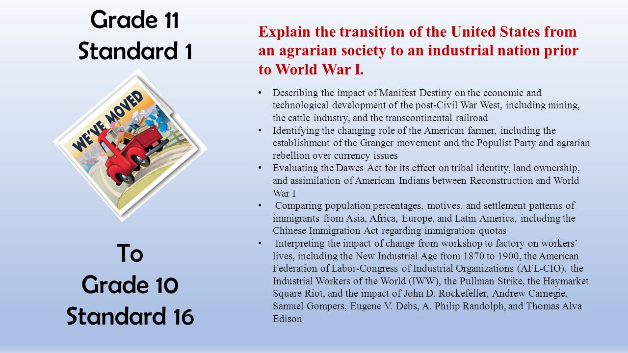 Grade 11 Standard 1 To Grade 10 Standard 16