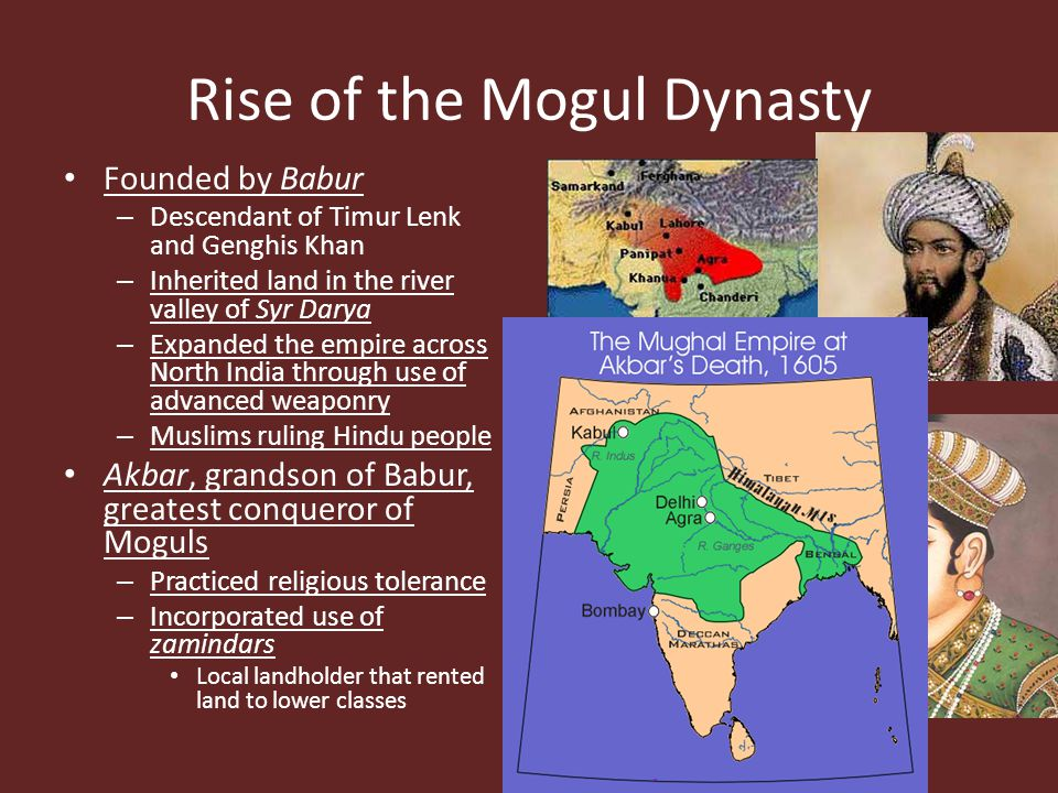 Rise of the Mogul Dynasty