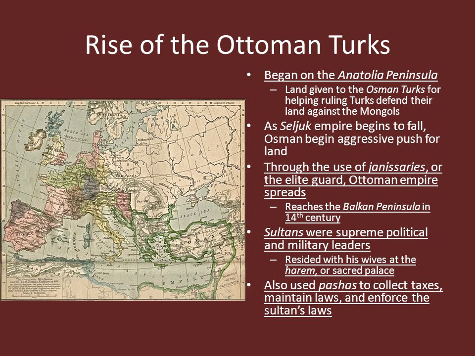 Rise of the Ottoman Turks