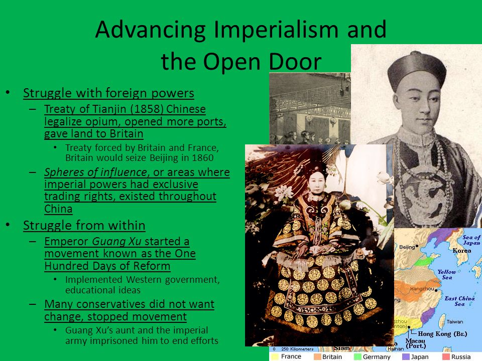 Advancing Imperialism and the Open Door