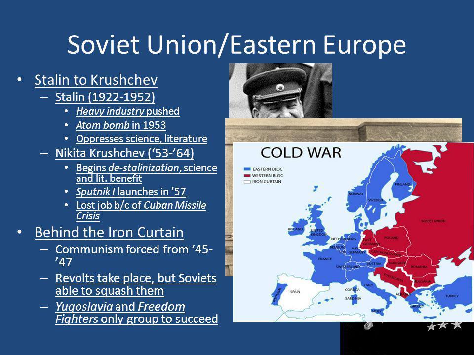 Soviet Union/Eastern Europe