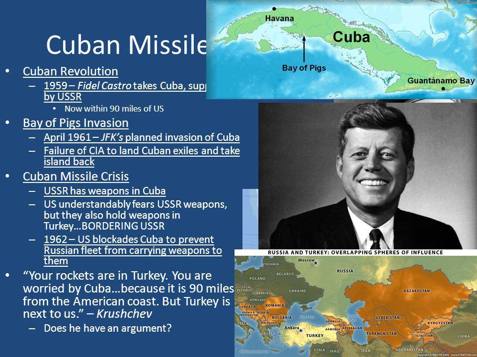Cuban Missile Crisis (1959-1963)