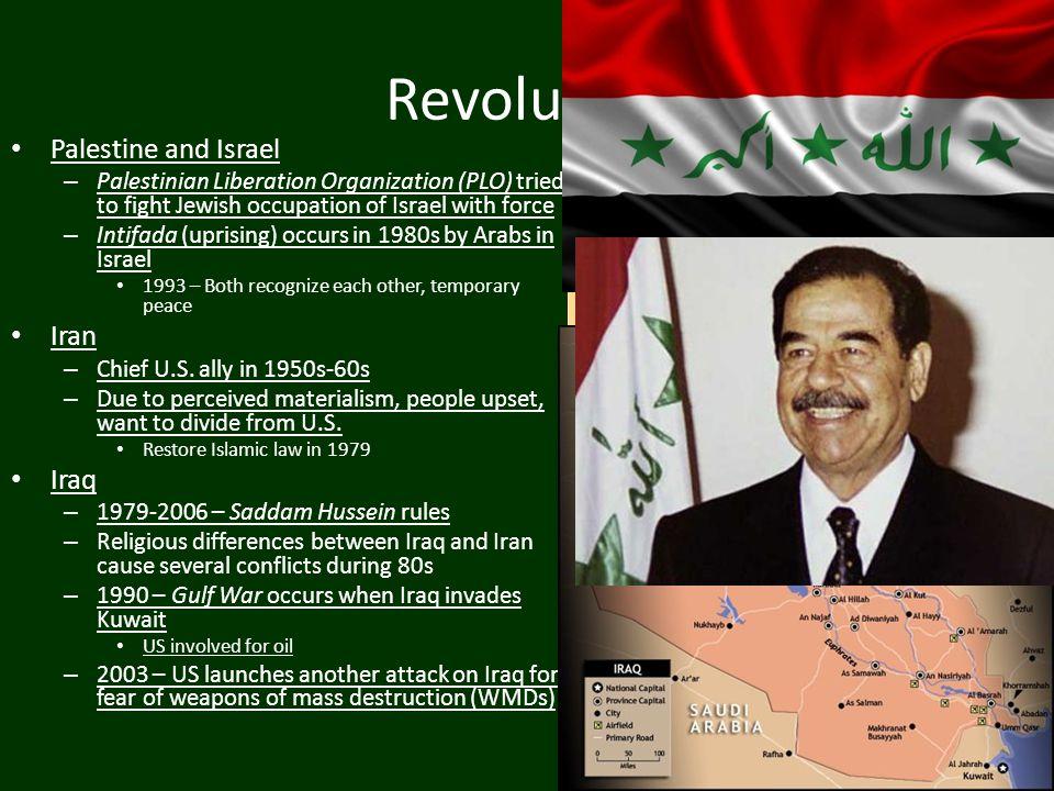 Revolution Palestine and Israel Iran Iraq