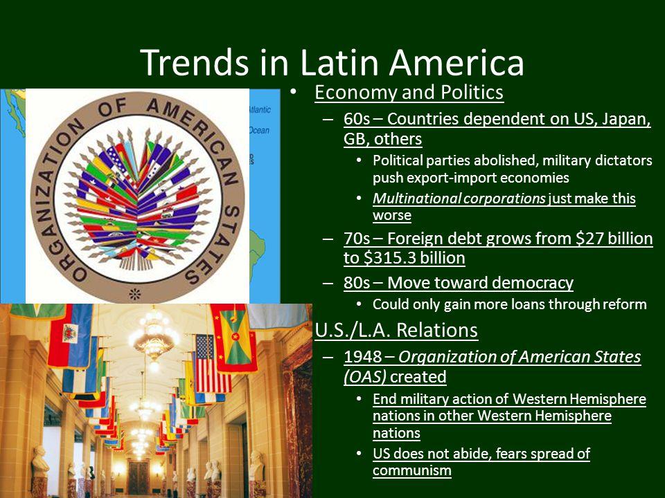 Trends in Latin America