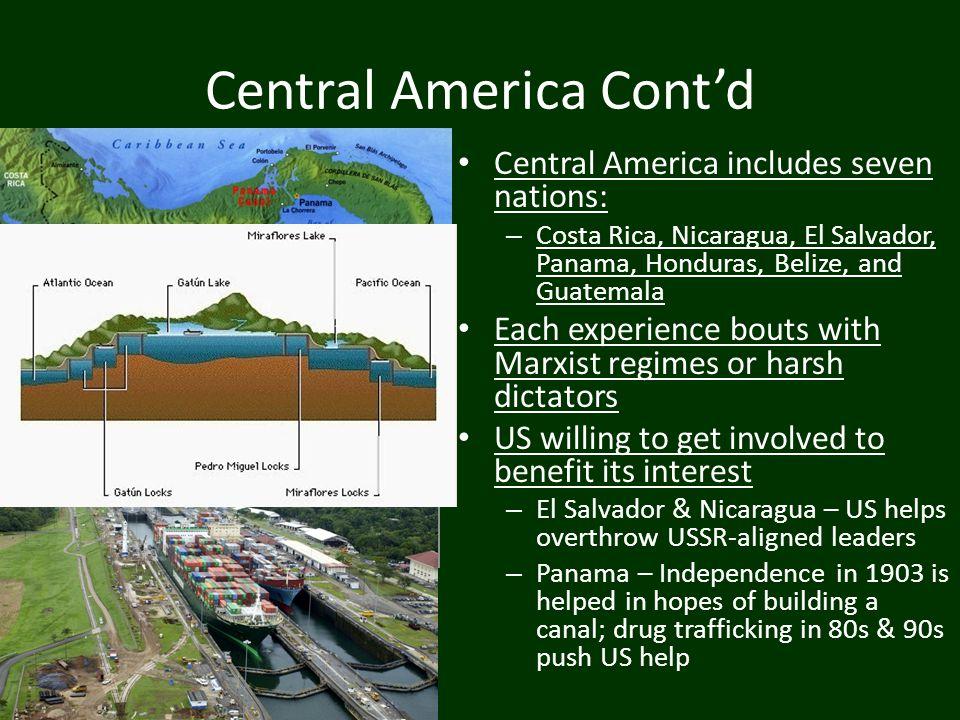 Central America Cont'd