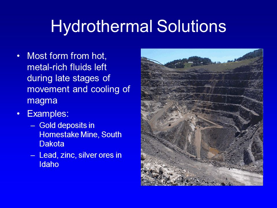 Hydrothermal Solutions