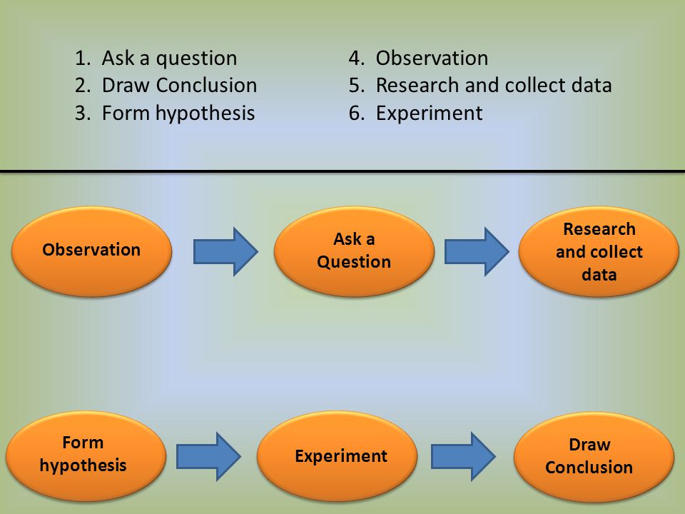 Research and collect data