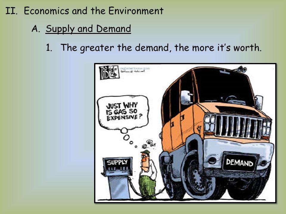 II. Economics and the Environment