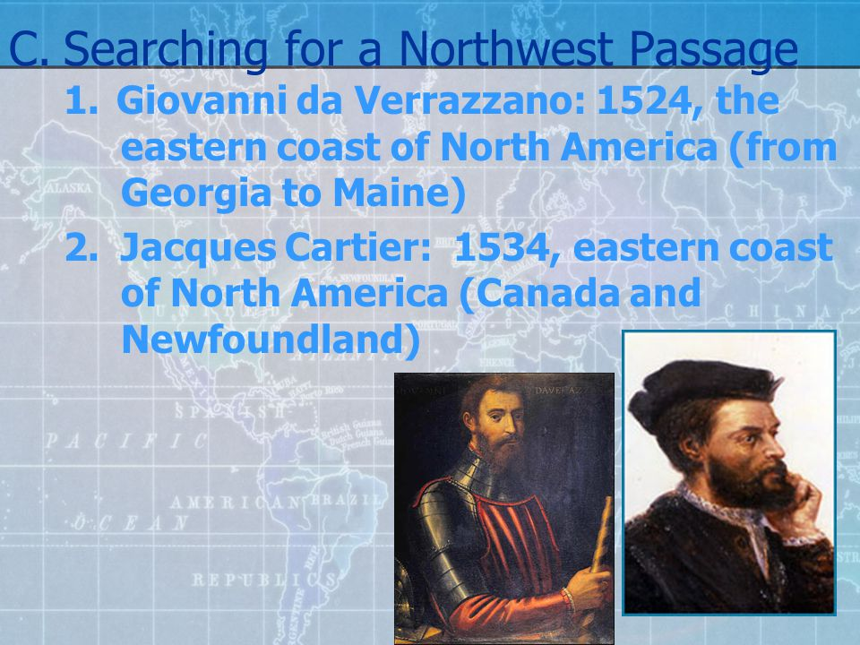 C. Searching for a Northwest Passage