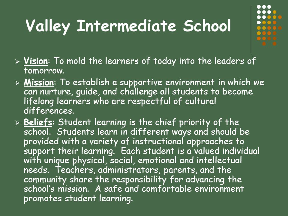 Valley Intermediate School