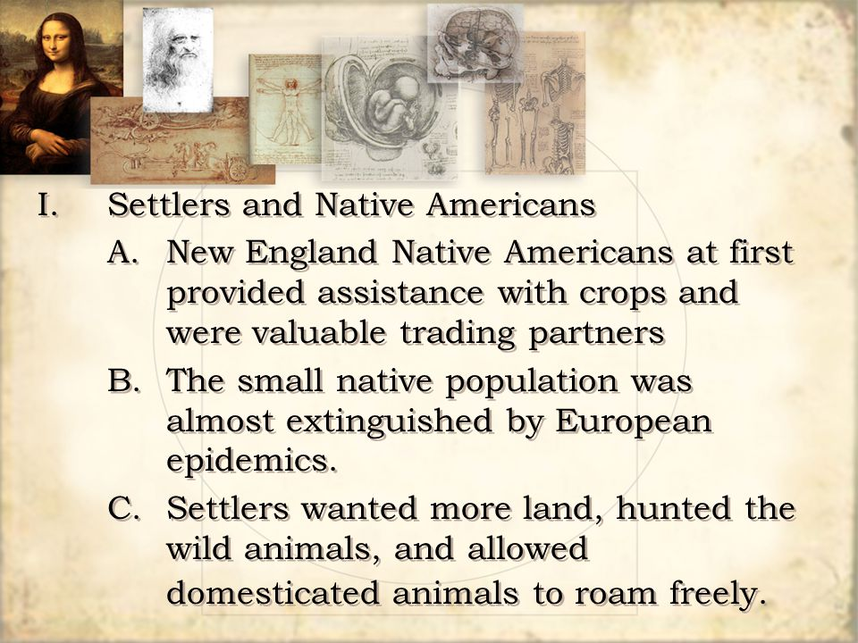 Settlers and Native Americans