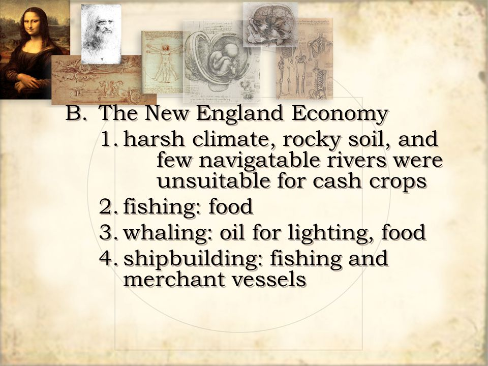 B. The New England Economy