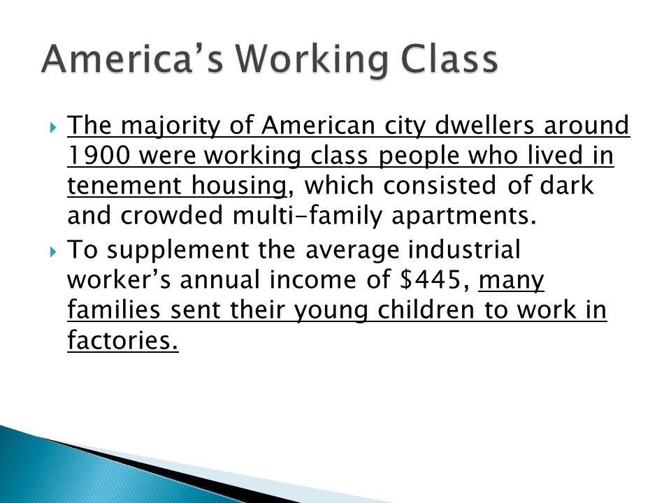 America's Working Class