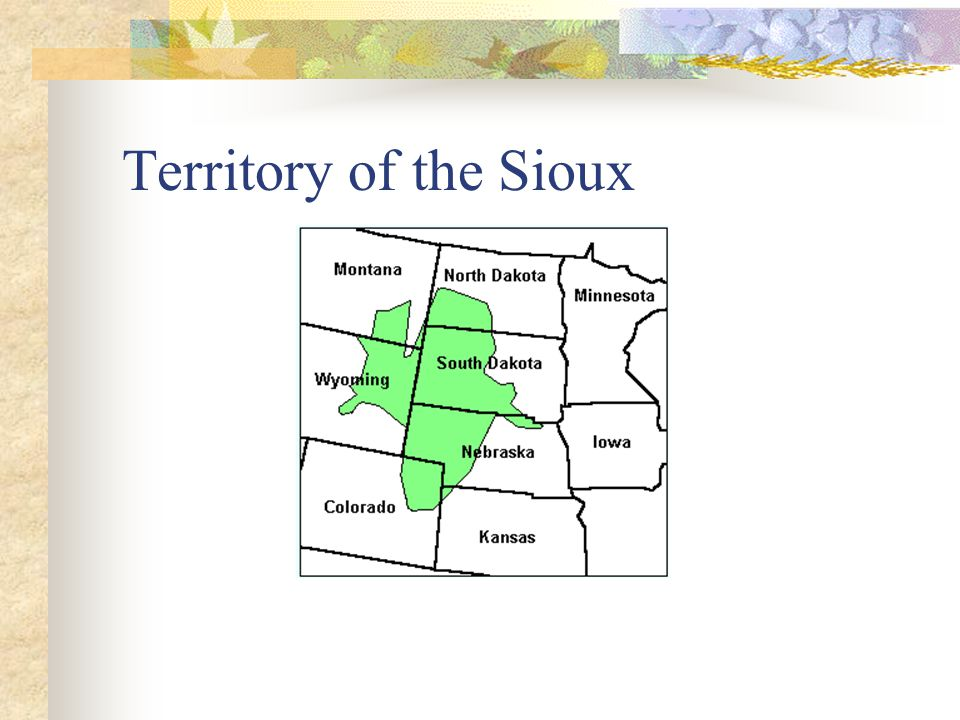Territory of the Sioux