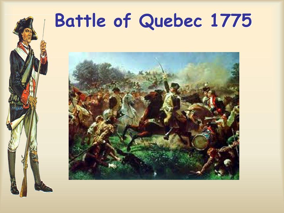 Battle of Quebec 1775