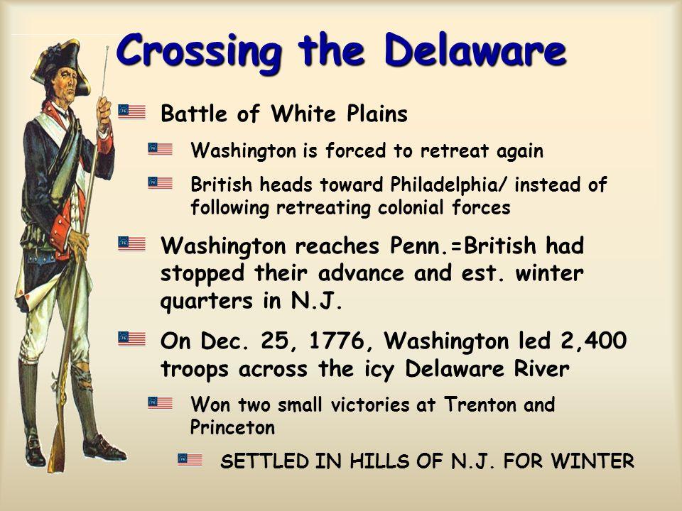 Crossing the Delaware Battle of White Plains