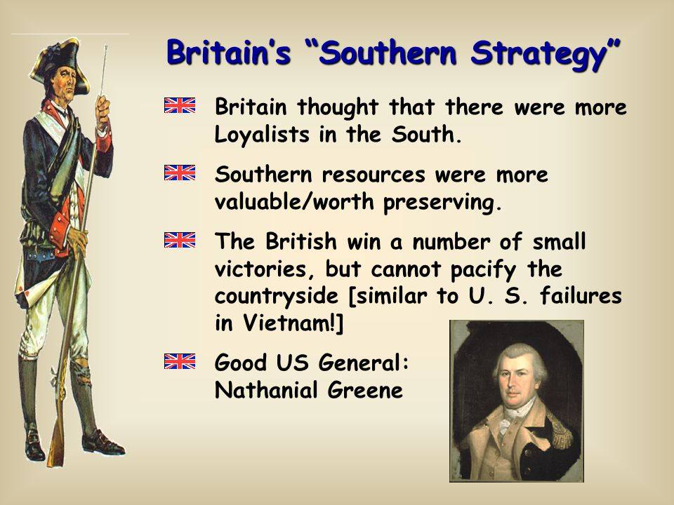 Britain's Southern Strategy