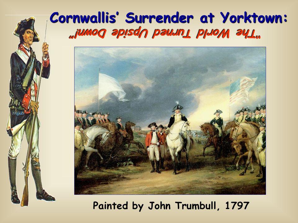 Cornwallis' Surrender at Yorktown: