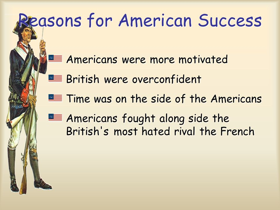 Reasons for American Success
