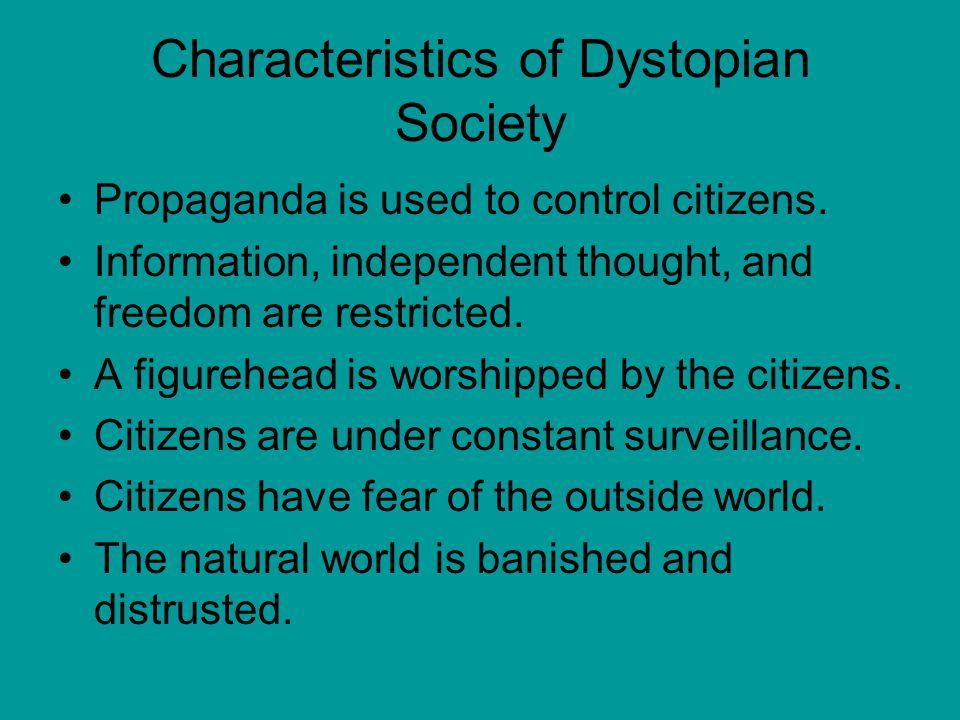 Characteristics of Dystopian Society
