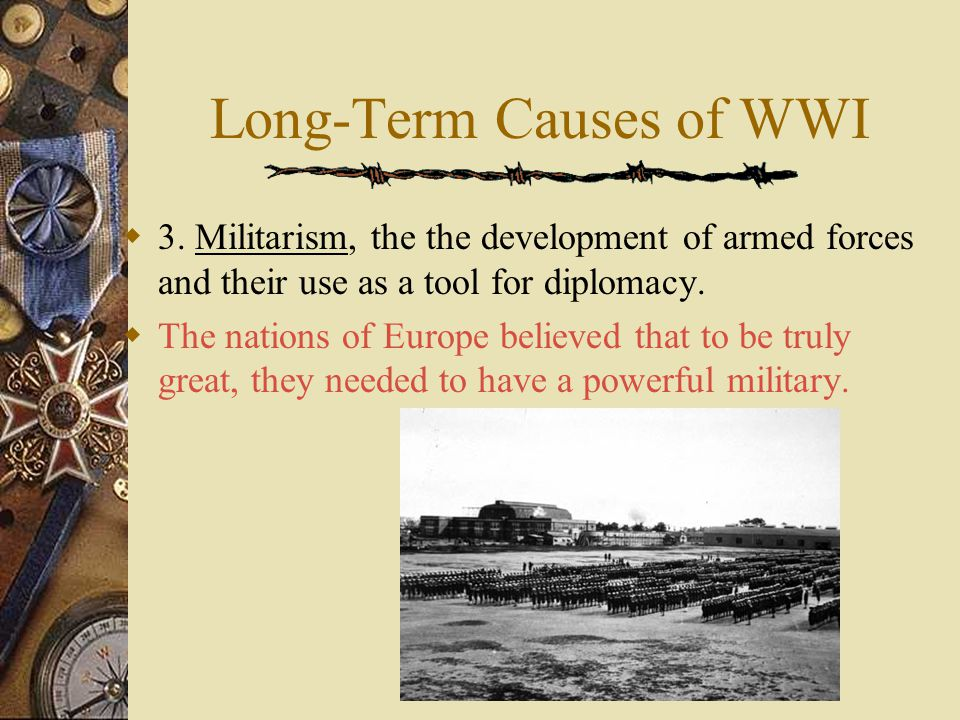 Long-Term Causes of WWI