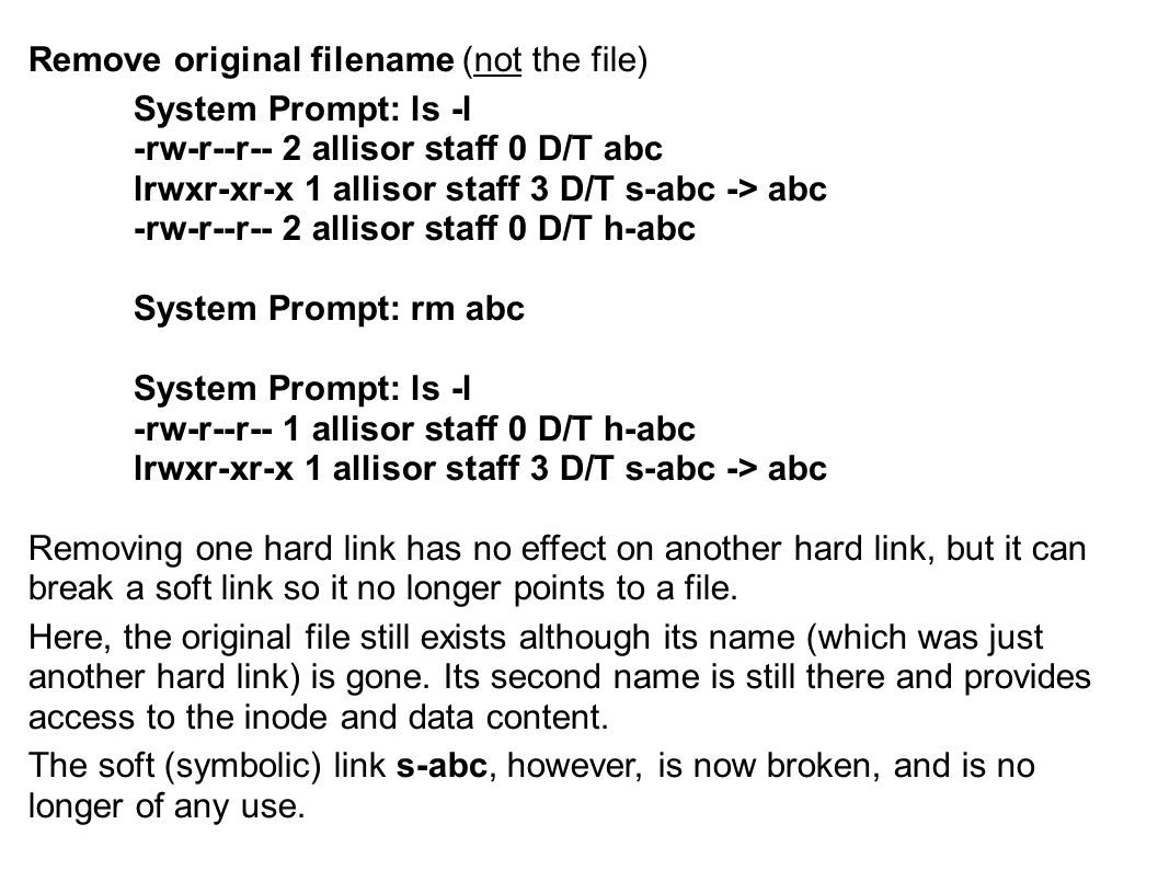 Remove original filename (not the file)