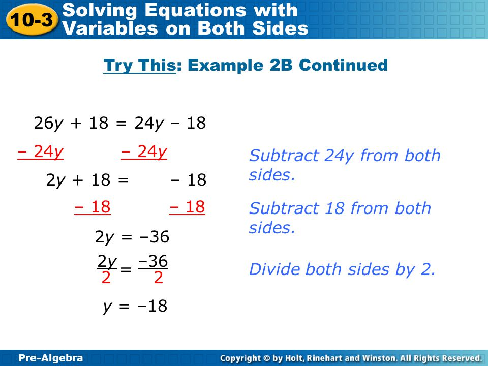Try This: Example 2B Continued